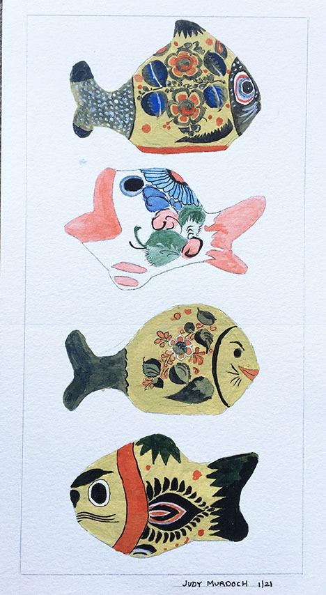 Tonala Fish #1