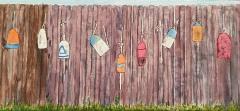 Buoys on a Fence