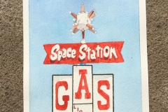 Road Trip I Space Station Gas
